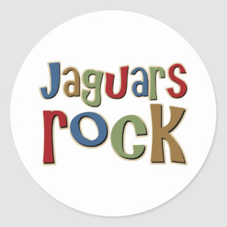 Jaguars Rock Stickers
