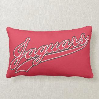 Jaguars Script Throw Pillows