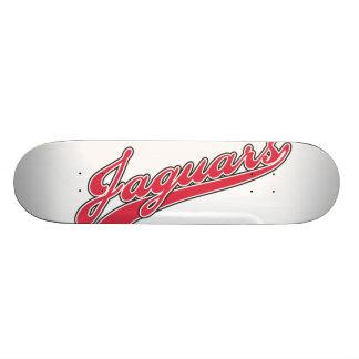 Jaguars Script Skateboard Deck