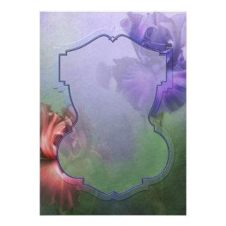 "Jaguarwoman's ""Bearded Iris"" Invitations"