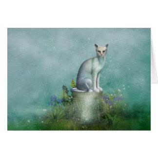 "Jaguarwoman's ""Fantasy Cat I"" Card"