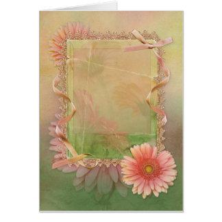 "Jaguarwoman's ""Gerbera's & Lace"" Card"