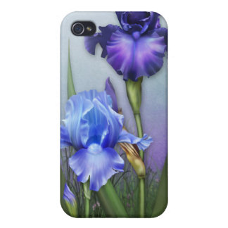 "Jaguarwoman's ""Iris iPhone Case"" Covers For iPhone 4"