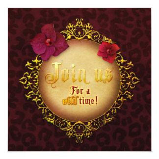 "Jaguarwoman's ""Join Us!"" Invitatin Card"