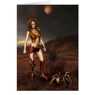 "Jaguarwoman's ""Ozone Babe"" Cards"