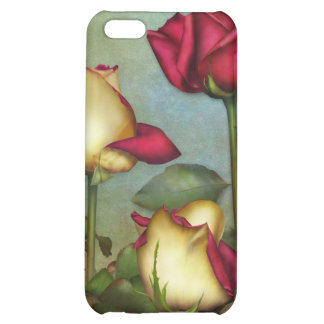 "Jaguarwoman's ""Red & & Yellow Roses"" iPhone Case Case For iPhone 5C"