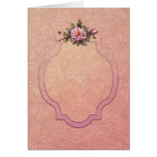 """Jaguarwoman's """"Rose Pink"""" Card"""
