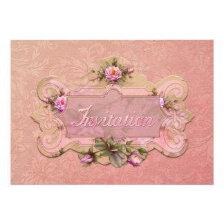 "Jaguarwoman's ""Rose Pink"" Invitation"