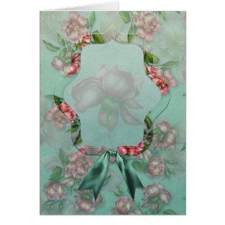 """Jaguarwoman's """"Victorian Rose Notecards"""" Card"""