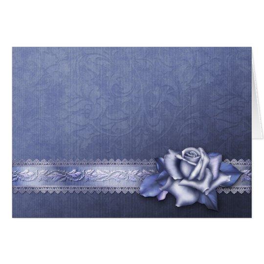"Jaguarwoman's ""Winter Rose Greeting Card #1"""