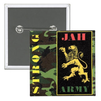 JAH ARMY STRONG BUTTON