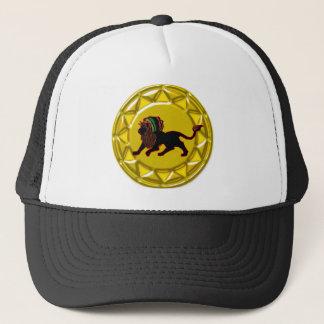 jah king jamaica trucker hat