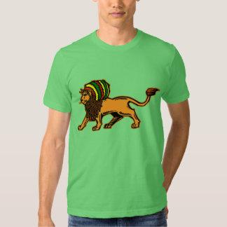 Jah King Rasta Lion T Shirt