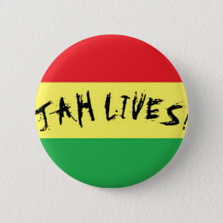 Jah Lives! Pinback Button