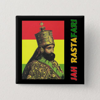 Jah Rastafari Button