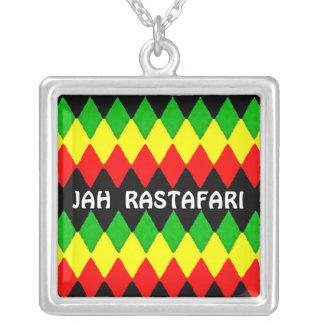 Jah Rastafari Rasta Reggae Necklace