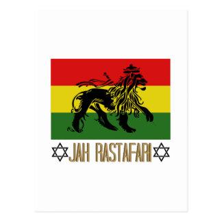 Jah Rastafari Tarjetas Postales
