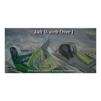 JAH WATCH OVER I POSTER
