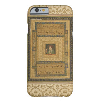 Jahangir holding a picture of the Madonna, inscrib Barely There iPhone 6 Case
