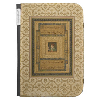 Jahangir holding a picture of the Madonna, inscrib Kindle Keyboard Covers