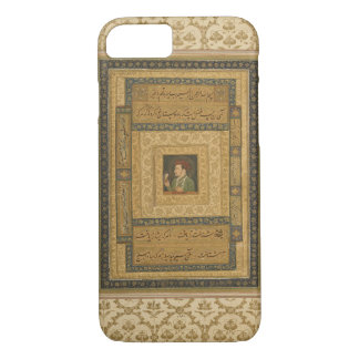 Jahangir holding a picture of the Madonna, inscrib iPhone 8/7 Case