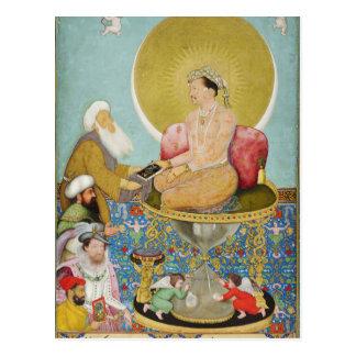 Jahangir preferring a Sufi sheikh to kings Postcard