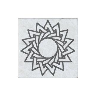 Jai Deco - Geometrics - círculos sagrados Imán De Piedra
