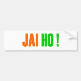 JAI HO ! Bumper Sticker Car Bumper Sticker