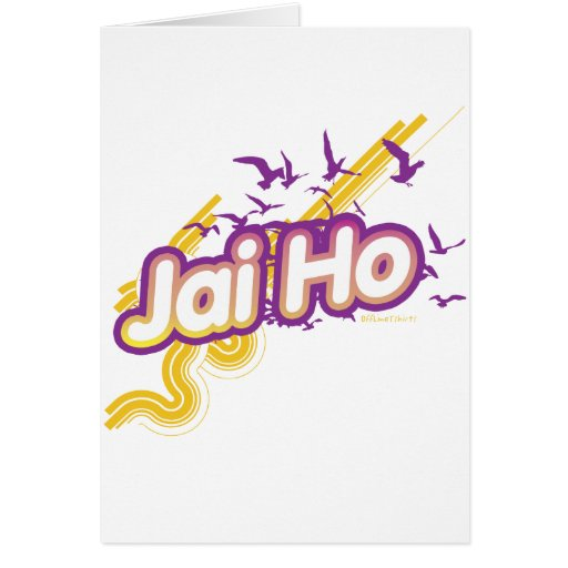 Jai Ho Tarjeton
