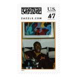 Jai Marshall Postage Stamp
