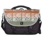 JAI MATA DI - Holistic Patterns n Color Grids Bag For Laptop
