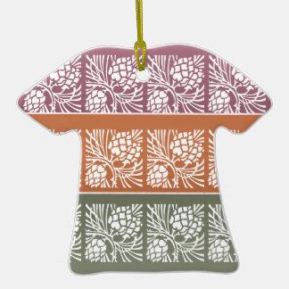 JAI MATA DI - Holistic Patterns n Color Grids Christmas Tree Ornament
