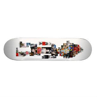 "jai tanju ""just keep going"" photo board skateboards"