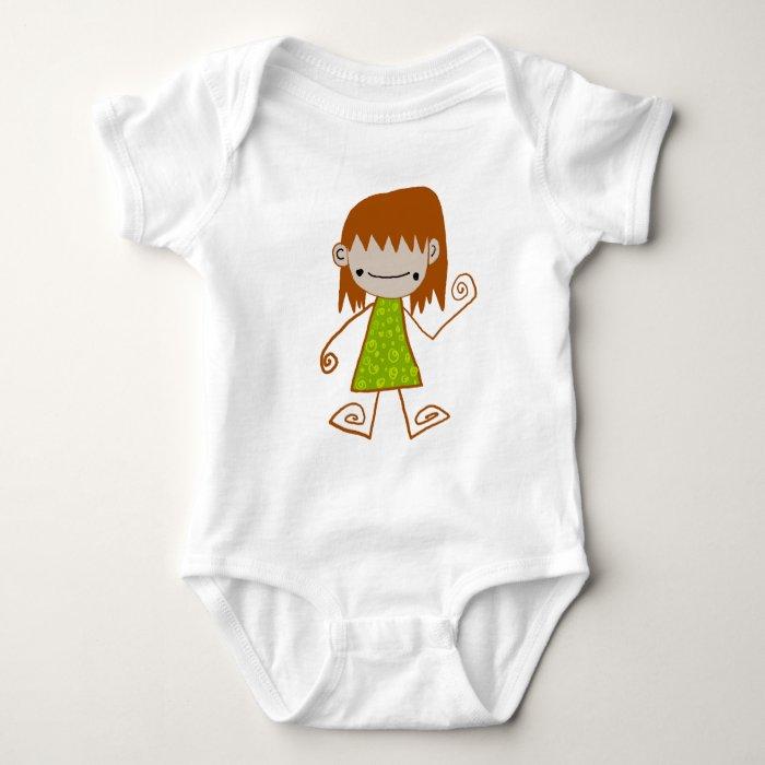 Jaidee-0020/ ใจดี0020 baby bodysuit