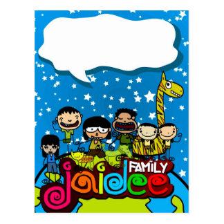 Jaideefamily card & postcard 05 ใจดีแฟมิลี่ การ์ด