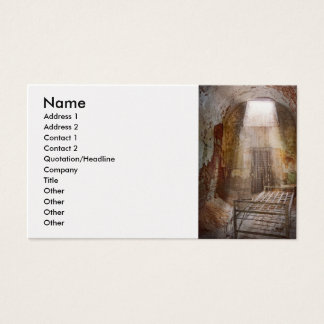 Jail - 50 years to life business card