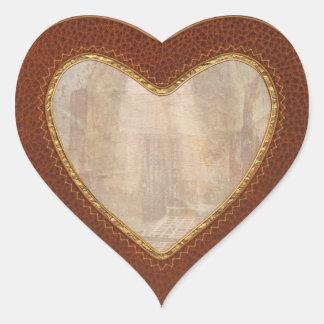 Jail - 50 years to life heart sticker