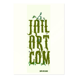 jail-art.com BE-HONEST CROSSED FINGERS SIGN Business Card Templates