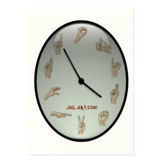 jail-art.com legs11 sign business card