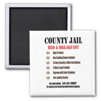 Jail B&B Magnet