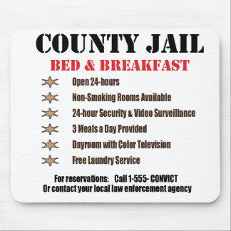 Jail B B Mousepad