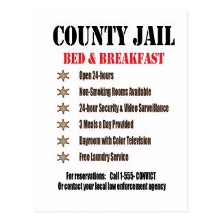Jail B B Postcard