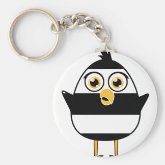 Jail Bird Keychain