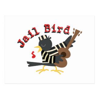 Jail Bird Postcard