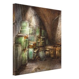 Jail - Cabinet member Canvas Print