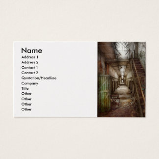 Jail - Down a lonely corridor Business Card