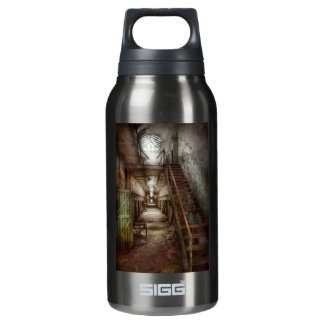 Jail - Down a lonely corridor Insulated Water Bottle