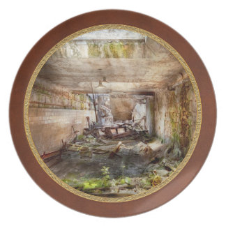 Jail - Eastern State Penitentiary - The mess hall Dinner Plate