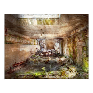 Jail - Eastern State Penitentiary - The mess hall Flyer