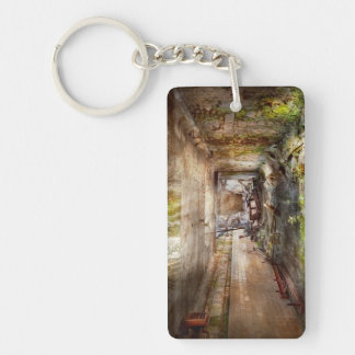 Jail - Eastern State Penitentiary - The mess hall Keychain